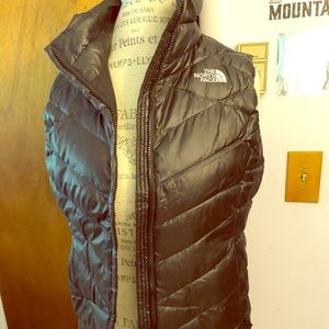 North Face Black Vest
